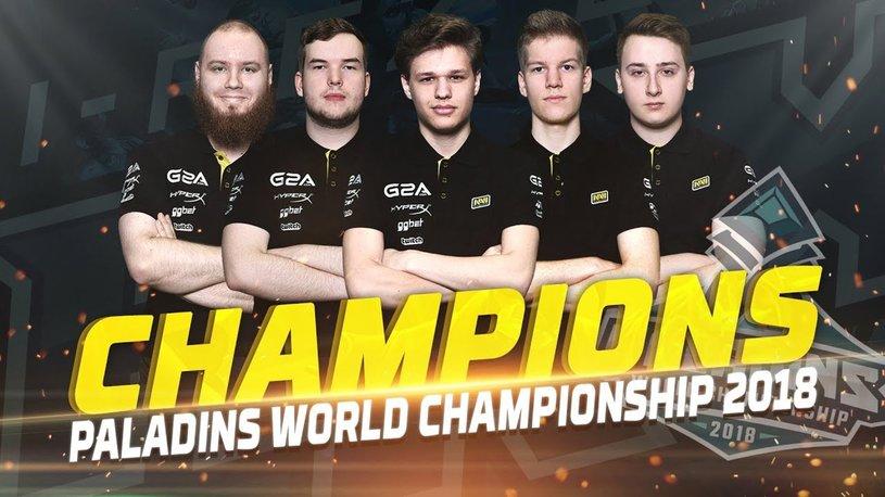 Na'Vi стала Чемпионом мира по Paladins