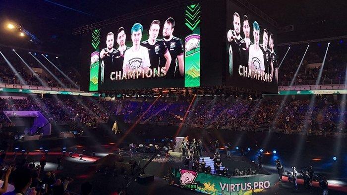 Virtus.pro выиграла первый мейджор сезона по Dota 2
