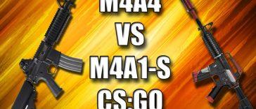M4A4 или M4A1-S: что выбрать?