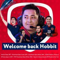 Hobbit перешел в Gambit Youngsters