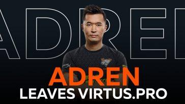 AdreN покинул команду Virtus.pro
