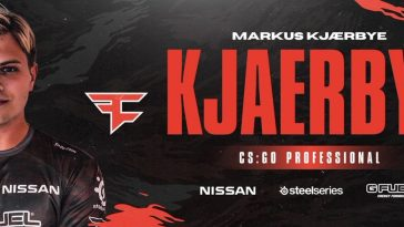 Kjaerbye присоединился к FaZe